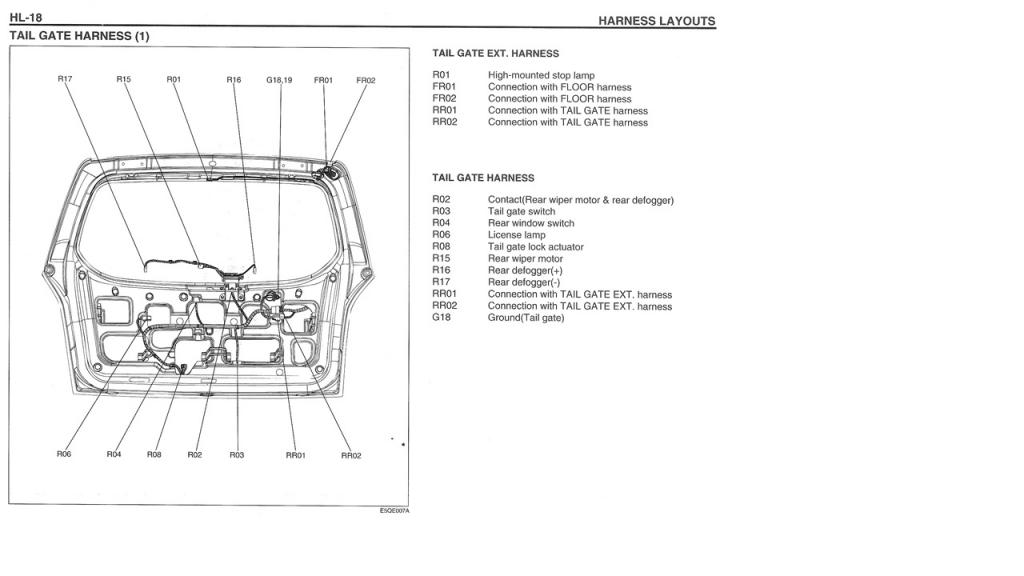 hyundai santa fe ignition schema cablage