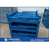 Details Of Galvanized Turnover Steel Mesh Box Large
