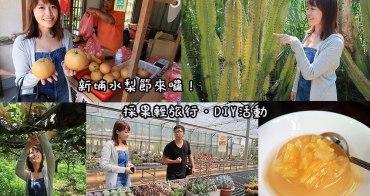 新埔水梨節來了!28、29兩日舉辦新埔輕旅行,多項DIY體驗等你來參加