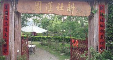 【台中】新社蓮園 // 最美的風景是蓮花奶奶