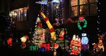 【紐約布魯克林】聖誕期間限定的熱門景點---Dyker Heights//聖誕佈置大Battle!!!!