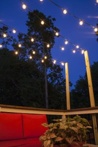 Hanging Patio String Lights: A Pattern of Perfection ...