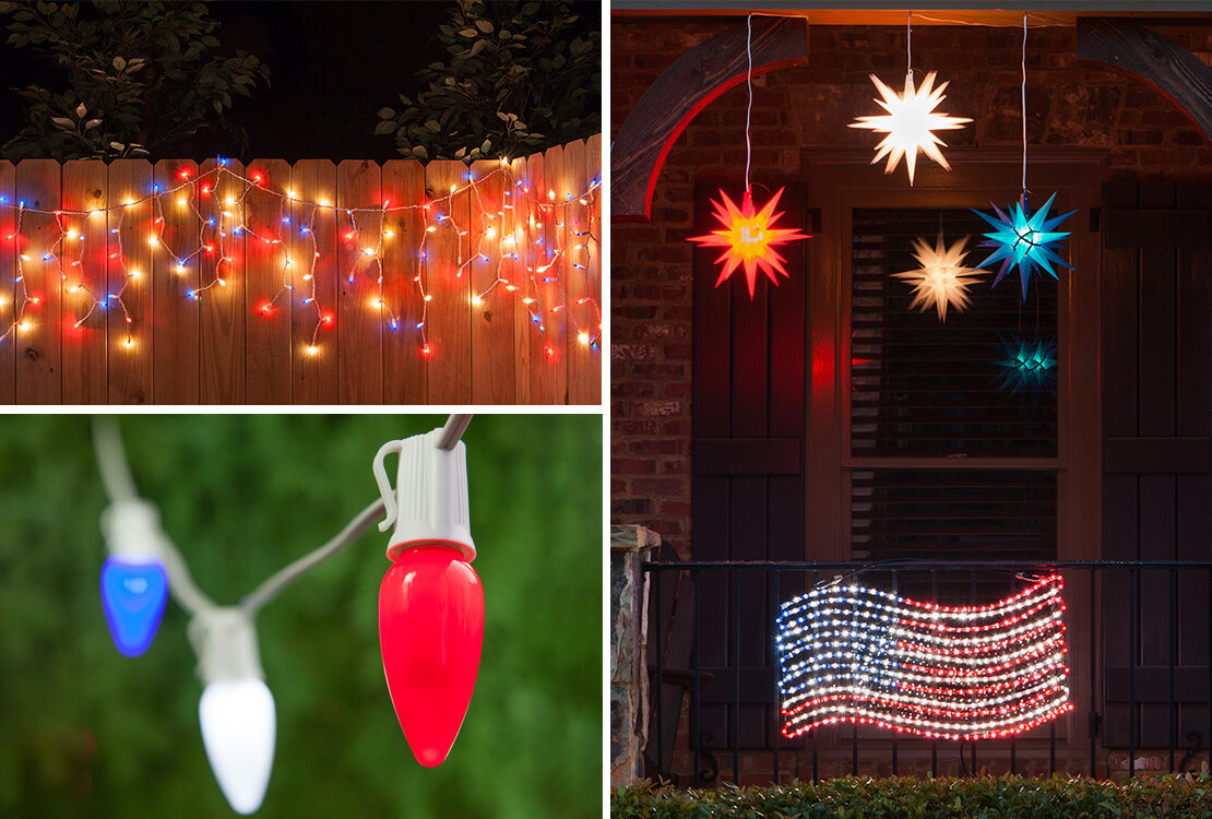 Outdoor Party Lights Outdoor Party Lights Yard Envy