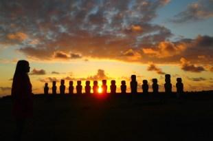 復活島景點|Ahu Tongariki摩艾石像群日出、雲海,美好值得等待