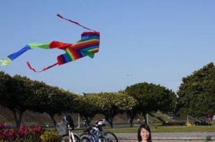 【台北。古亭】 馬場町紀念公園,周末騎單車&放風箏的好去處!