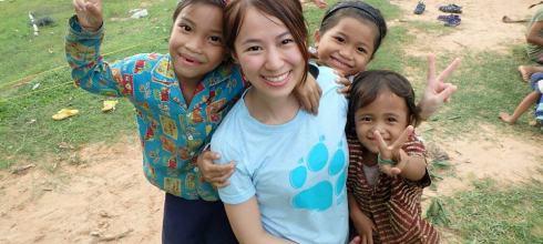 柬埔寨|暹粒國際志工學校,與小星星們的相遇。