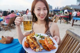 峇里島美食推薦|Lia Cafe海鮮大餐,雙人龍蝦大餐只要1400元!金巴蘭海灘上值得膜拜的Seafood!