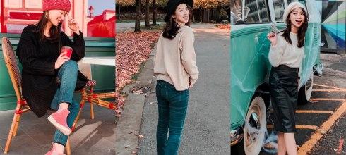 走路去遊學|加拿大秋季穿搭,遊學生4套時尚保暖穿搭