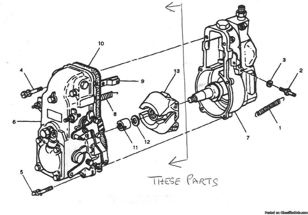 navistar diesel engine diagram