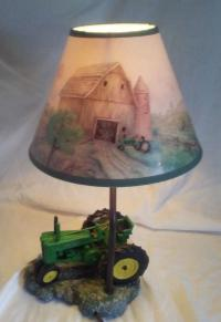 John Deere Lamp Shade - For Sale Classifieds