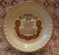 Royal China Jeannette Pie Plate - For Sale Classifieds