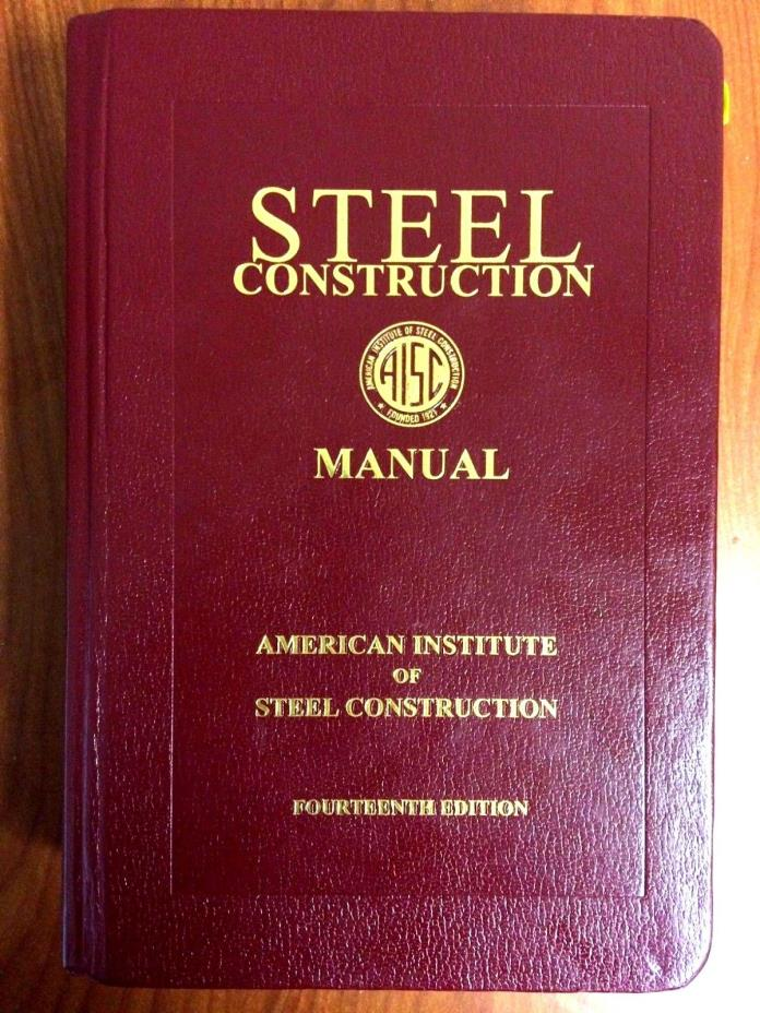 The AISC 15 Edition Steel Construction Manual - mandegarinfo