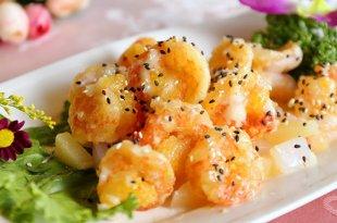 「最適合夏天吃的超人氣美食」北中南東 4 種鳳梨蝦球超乎你的想像!