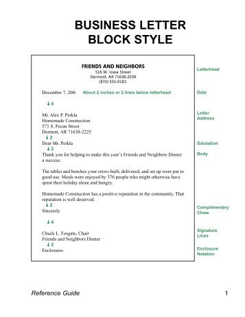 modified block format of letter writing granitestateartsmarket com