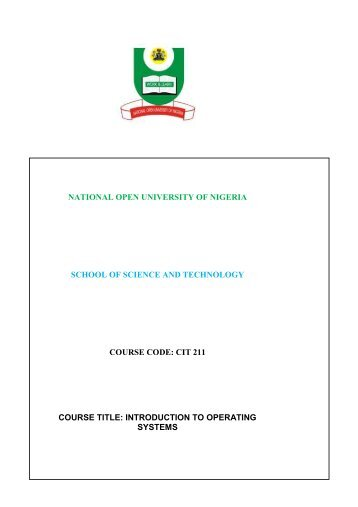 course material for cit132