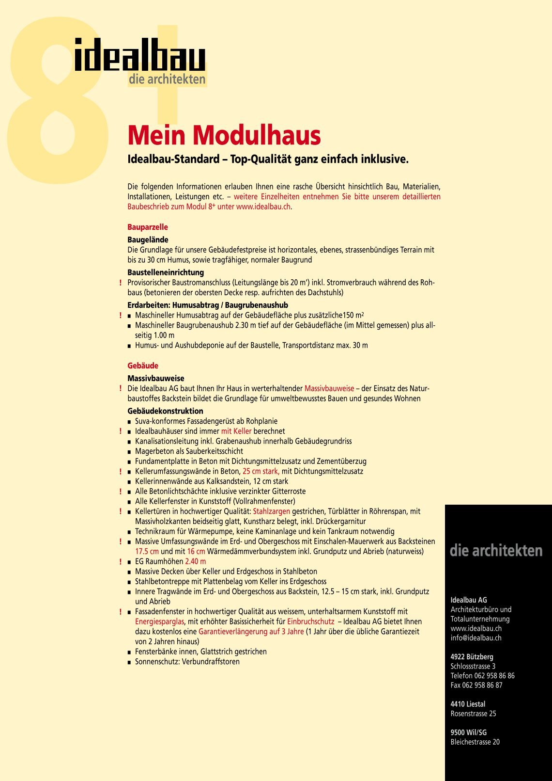 Modulhaus Stark 30 Free Magazines From Idealbau