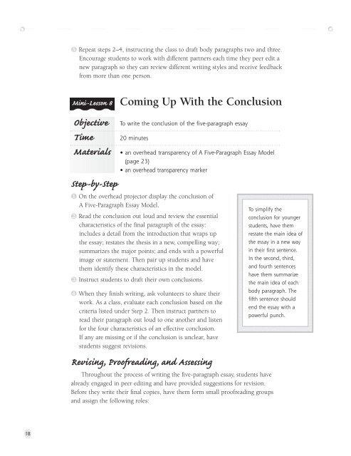 Narrative Essay - Scholastic Store
