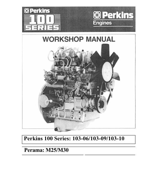 Perkins Series 100 Wiring Diagram Electronic Schematics collections