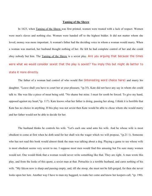 Student essay 2 - Urban Dreams