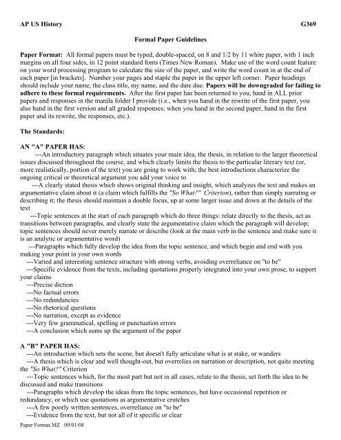 ap essay format - Pinarkubkireklamowe