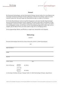 (Hausordnung und Mietvertrag f\374r Pfarrheime)