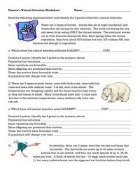 Darwins Natural Selection Worksheet Beautiful Worksheets For All on additionally  further 15 Best Images of Natural Selection Worksheet Answers   Darwin moreover √ worksheet  Natural Selection Worksheet  Gr Fedjp also Natural Selection and Peppered Moths besides Evolution of Life Worksheet for 9th   Higher Ed   Lesson Pla in addition Evolution by Natural Selection besides Evolution by Natural Selection Worksheet   Winonarasheed likewise Darwins Natural Selection Worksheet   WRITING WORKSHEET together with Natural Selection Worksheets   Oaklandeffect as well evolution by natural selection worksheet   Siteraven in addition Reading  prehension   Darwins Natural Selection Worksheet Answers besides Darwin  evolution    natural selection  article    Khan Academy additionally Evolution by Natural Selection Worksheet Answer Key Unique 68 Best in addition Natural Selection   Evolution CLOZE Worksheet   TpT also Reading  prehension   Chapter 10 Evolution And Natural Selection. on evolution and natural selection worksheet