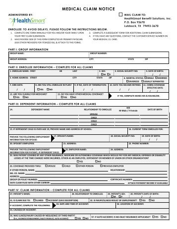 Medicare Claim Form Return Address | Resume And Cover Letter Together