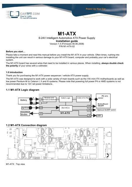 M1-ATX - CarTFT