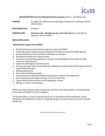 duties of administrative assistant - Josemulinohouse