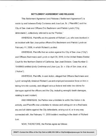 settlement and release agreement - Acurlunamedia