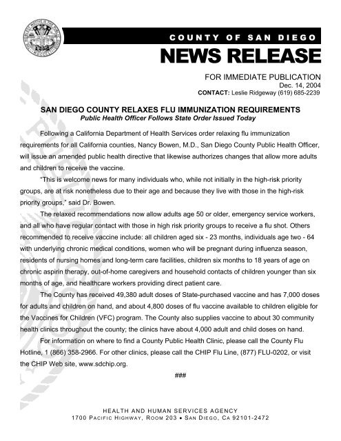 Media release form new format 4 - County of San Diego