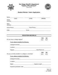 Intern Biographical Information form - Richland County ...