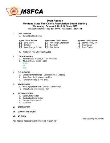 draft agenda of board meeting - Funfpandroid