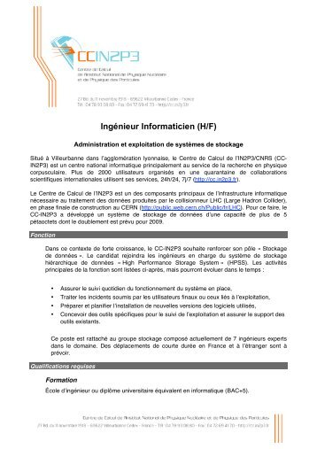 cv qualification informatique