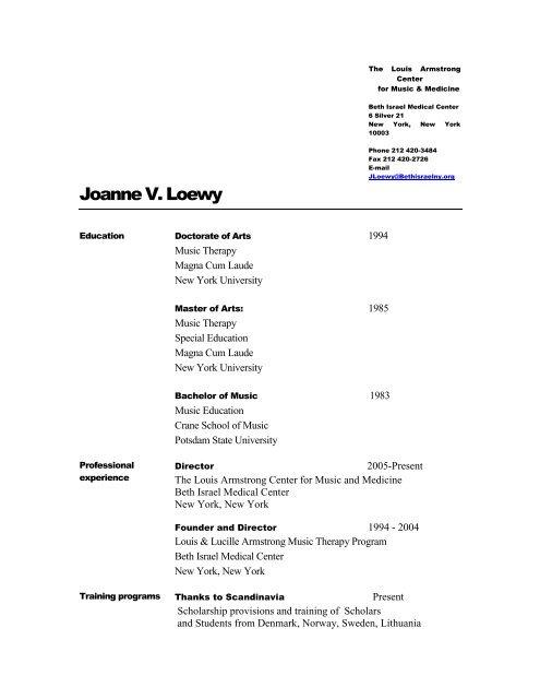Resume Wizard - Mozart  Science