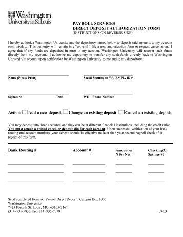 payroll authorization form - Onwebioinnovate - payroll authorization form