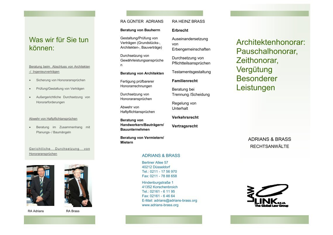 Architektenhonorar Pauschal 4 Free Magazines From Lawlink Org