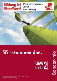 Personalratswahlen 2012Gl