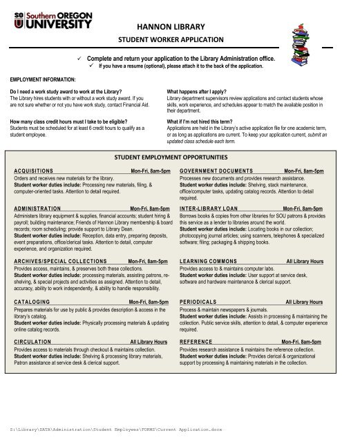 You may also print and fill out a job application or view more