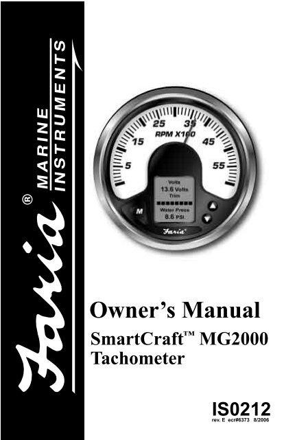 Owner\u0027s Manual - Faria Instruments