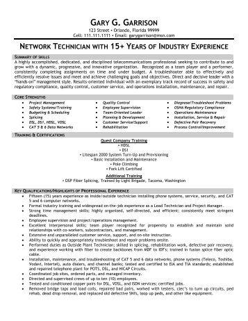 telecommunication technician - Pinarkubkireklamowe