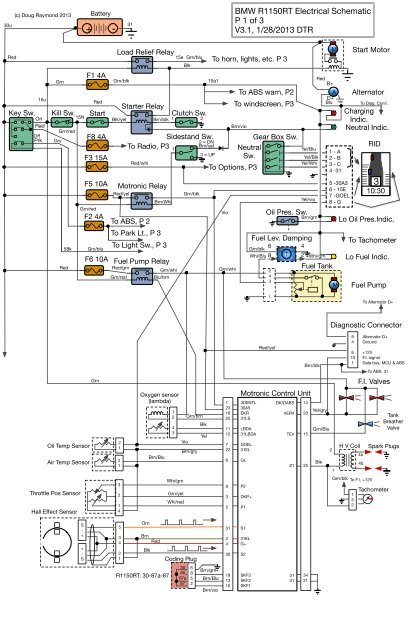Bmw K75 Wiring Diagram Electronic Schematics collections