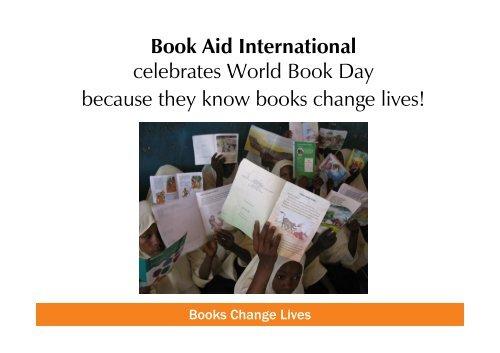 World Book Day powerpoint presentation - Book Aid International