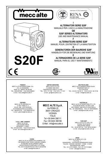 mecc alte spa generator wiring diagram