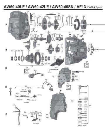 4l60e Assembly Diagram Wiring Diagram