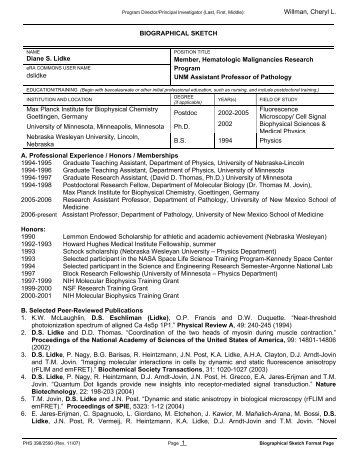 88+ Nsf Biosketch Template - Nsf Sbir Proposal Template NSF PROPOSAL