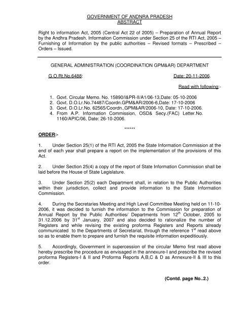 GO Ms No 6488 General Administration - Seriapgovin