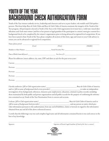 Background Check Release Form Background Check Form Template - background check consent forms