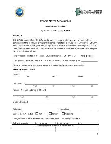 scholarship application form - Selol-ink - scholarship form