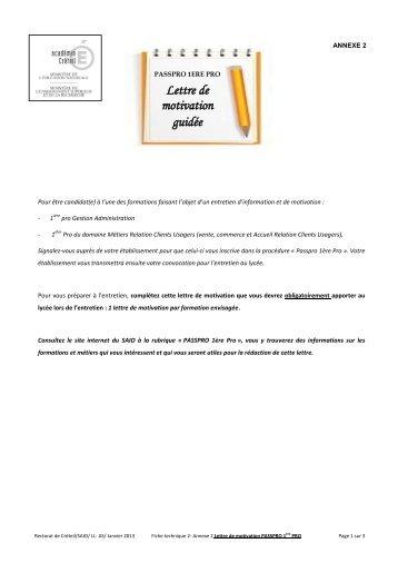 lettre et cv de motivation fnac